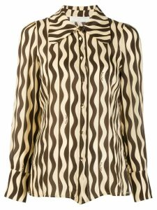 L'Autre Chose all-over pattern shirt - Neutrals