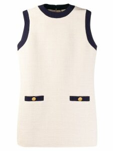 Gucci classic shift dress - NEUTRALS