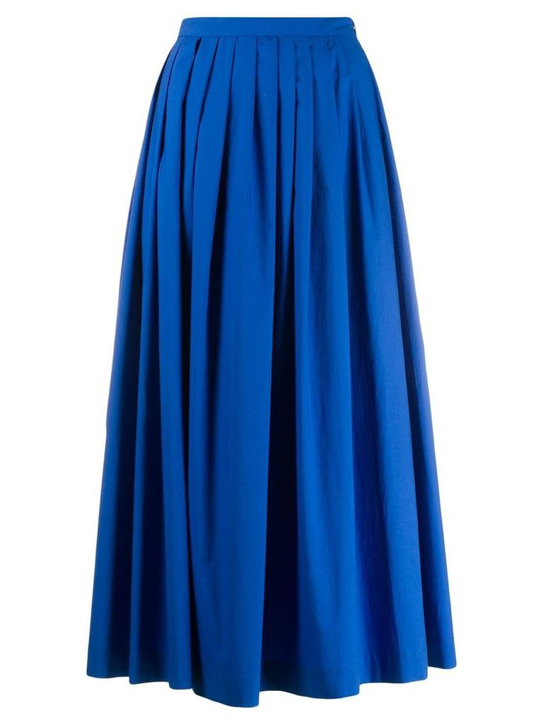 Boutique Moschino full pleated skirt - Blue