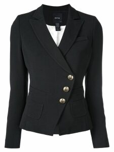 Smythe off-centre button blazer - Black