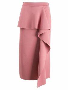 Stella McCartney compact knit skirt - Pink