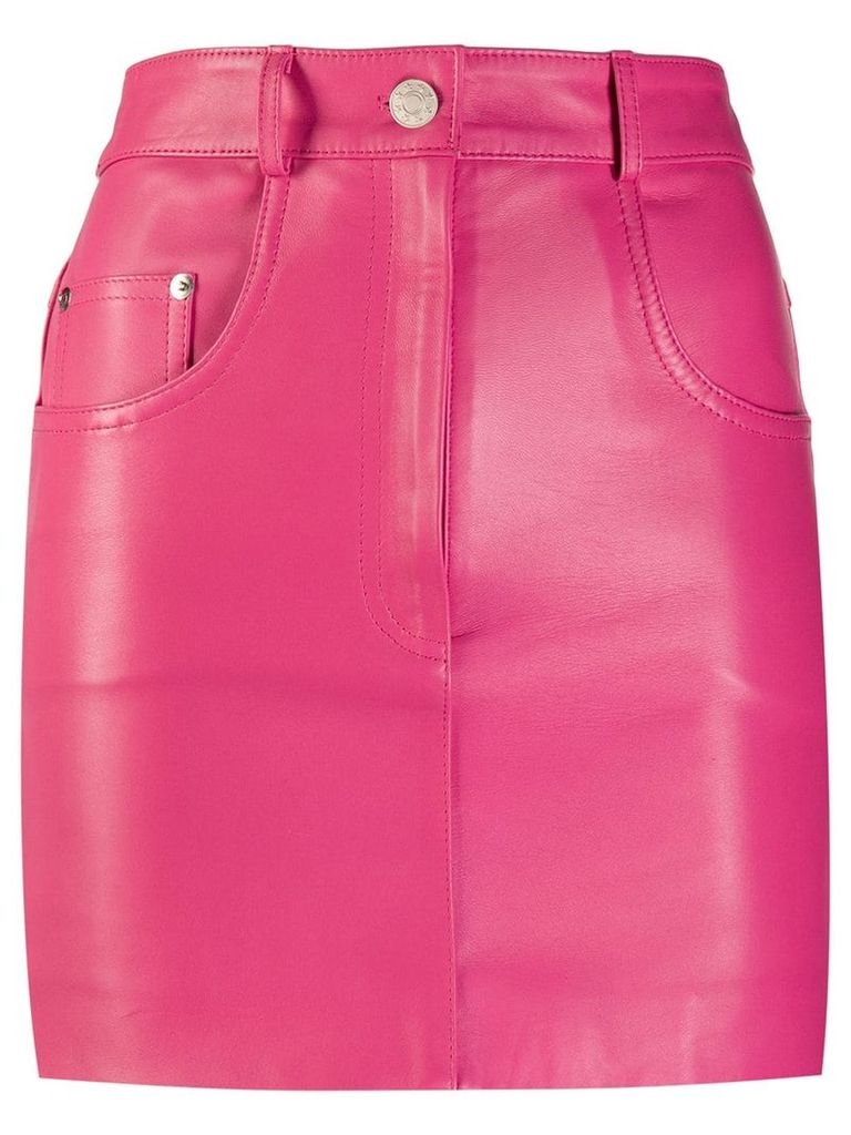 Manokhi high rise pencil skirt - Pink