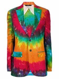 R13 tie-dye print blazer - Pink