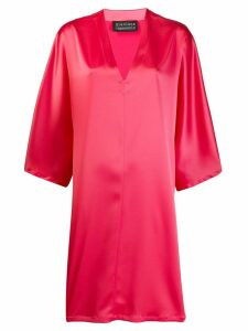 Gianluca Capannolo oversized shift dress - Pink