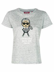 Mostly Heard Rarely Seen 8-Bit Coco T-shirt - Grey