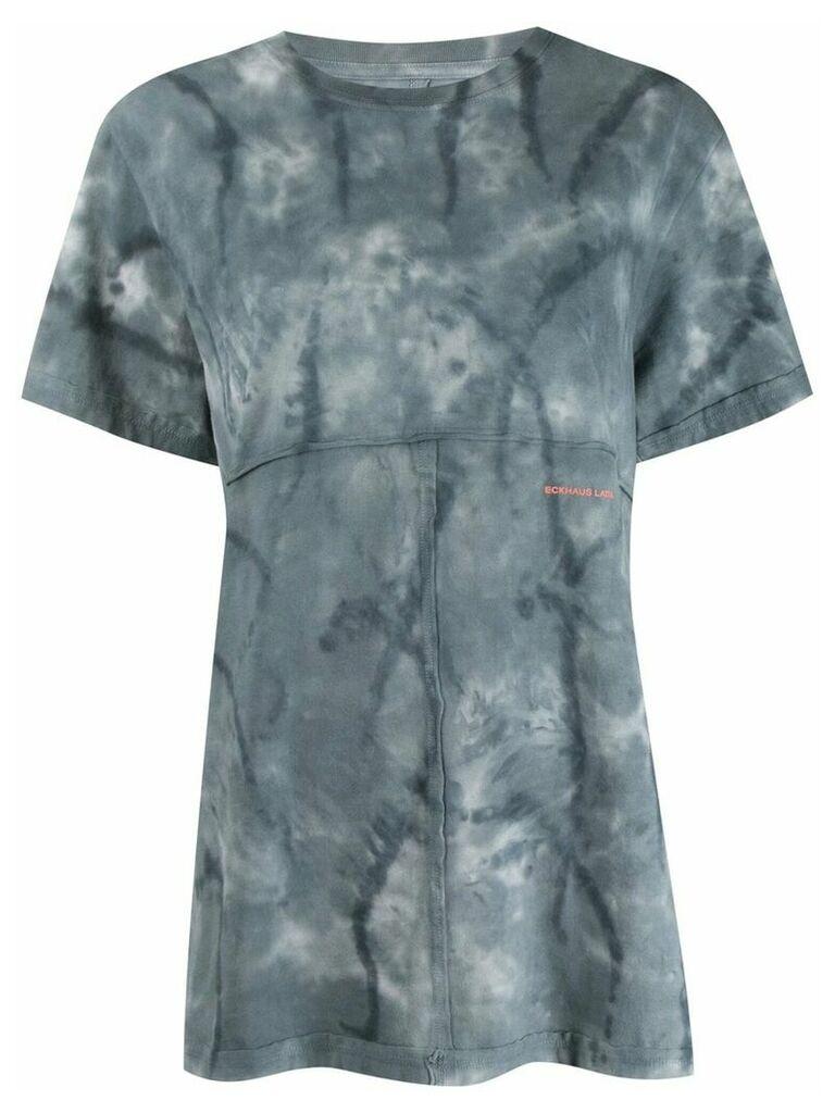 ECKHAUS LATTA tie dye T-shirt - Blue