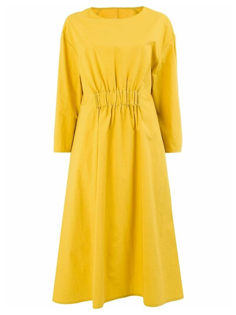 Toogood elasticated waist dress - Yellow