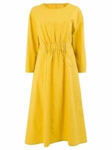 Toogood elasticated waist dress - Yellow