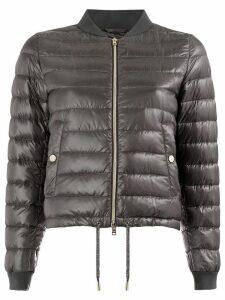 Herno zipped padded coat - Grey