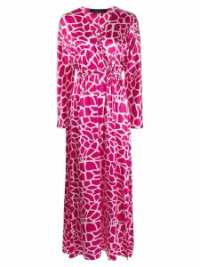 Federica Tosi all-over print dress - Pink