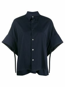 Ujoh oversized fit shirt - Blue