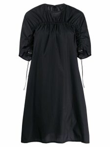 Ujoh ruched detail dress - Black