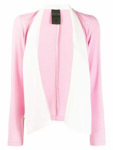 Marc Ellis two tone shawl blazer - Pink