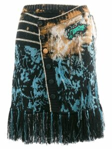 Ottolinger knitted wrap skirt - Black