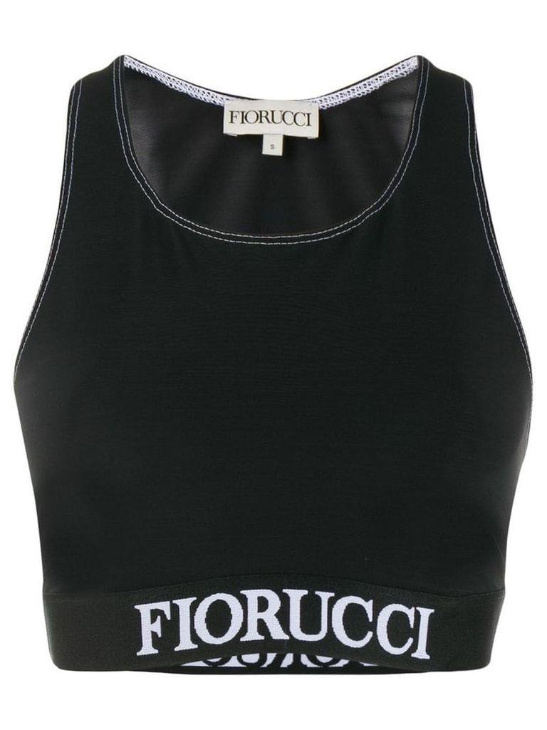 Fiorucci racerback sport tank top - Black