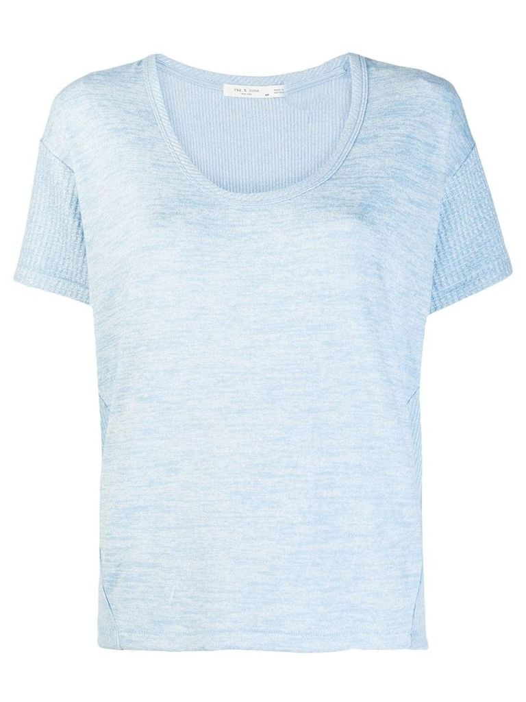 Rag & Bone round neck T-shirt - Blue