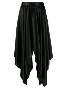 Federica Tosi handkerchief hem skirt - Black