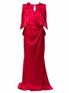 Talbot Runhof Pomelo gown - Red