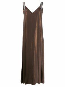 Antonelli Hawaii dress - Brown