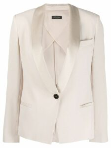 Antonelli shawl lapel blazer - Neutrals