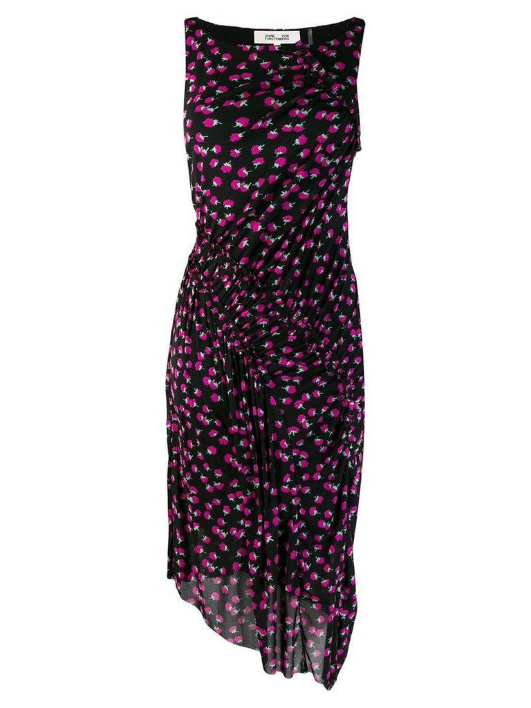 Dvf Diane Von Furstenberg floral midi dress - Black