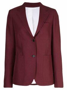 Calvin Klein long sleeved blazer - Red