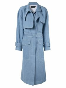 Joseph structured trench coat - Blue