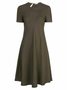 Rosetta Getty bias T-shirt dress - Black