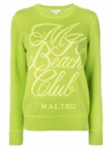 Michael Kors Collection long sleeved sweater - Green
