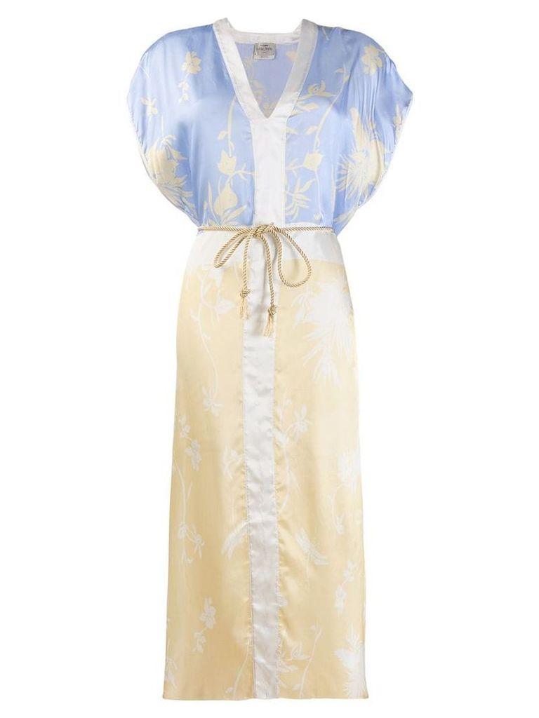 Forte Forte floral print dress - Neutrals