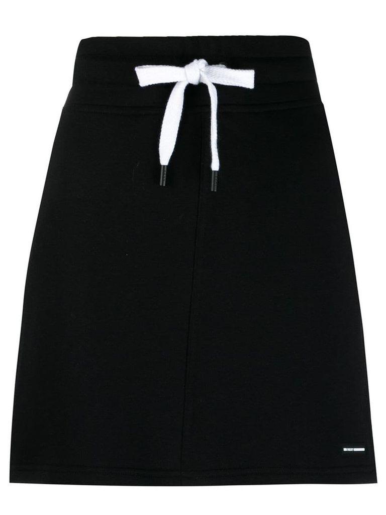 DKNY drawstring skirt - Black
