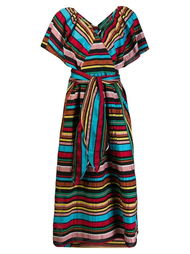 Tsumori Chisato striped summer dress - Black