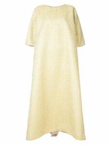 Mounay Nour kaftan dress - Yellow
