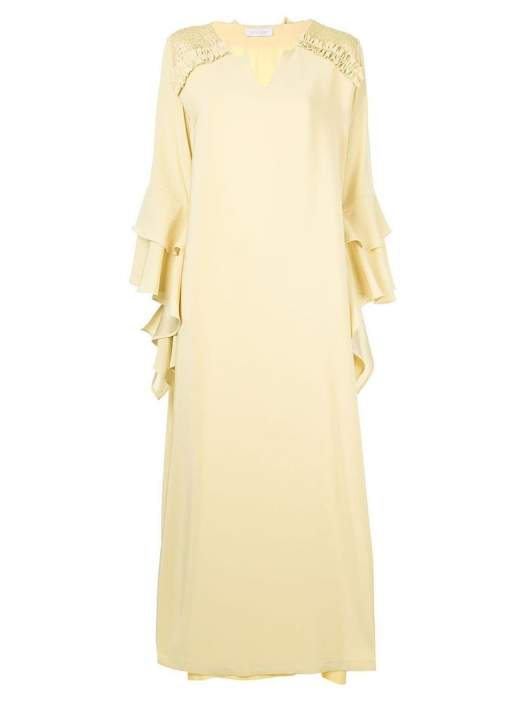 Mounay Grace kaftan dress - Yellow