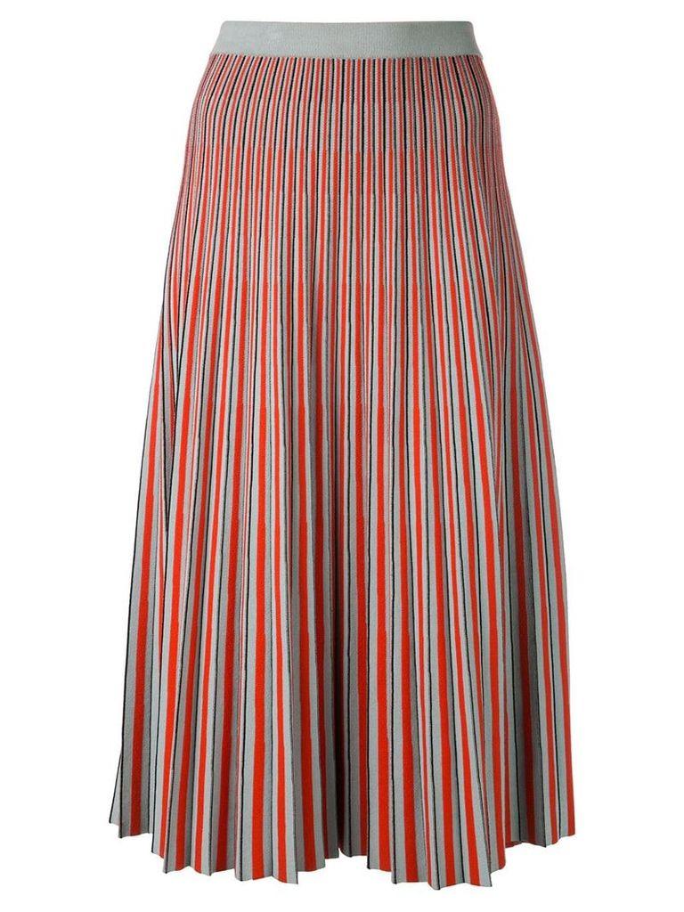 Proenza Schouler Jacquard Knit Skirt-Viscose Knits - Blue