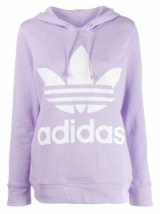 Adidas Trefoil hoodie - Purple