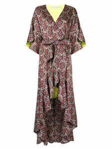Alice+Olivia Dani kimono dress - Red