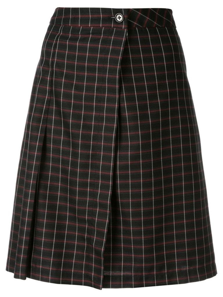 Zambesi tartan College skirt - Black