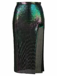 Christopher Kane chainmail skirt - Green