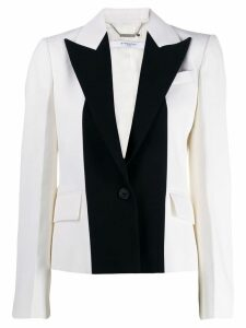 Givenchy two tone tailored blazer - White