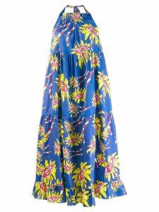 Mira Mikati patterned shift dress - Blue
