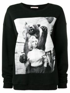 Christopher Kane Marilyn sweatshirt - Black