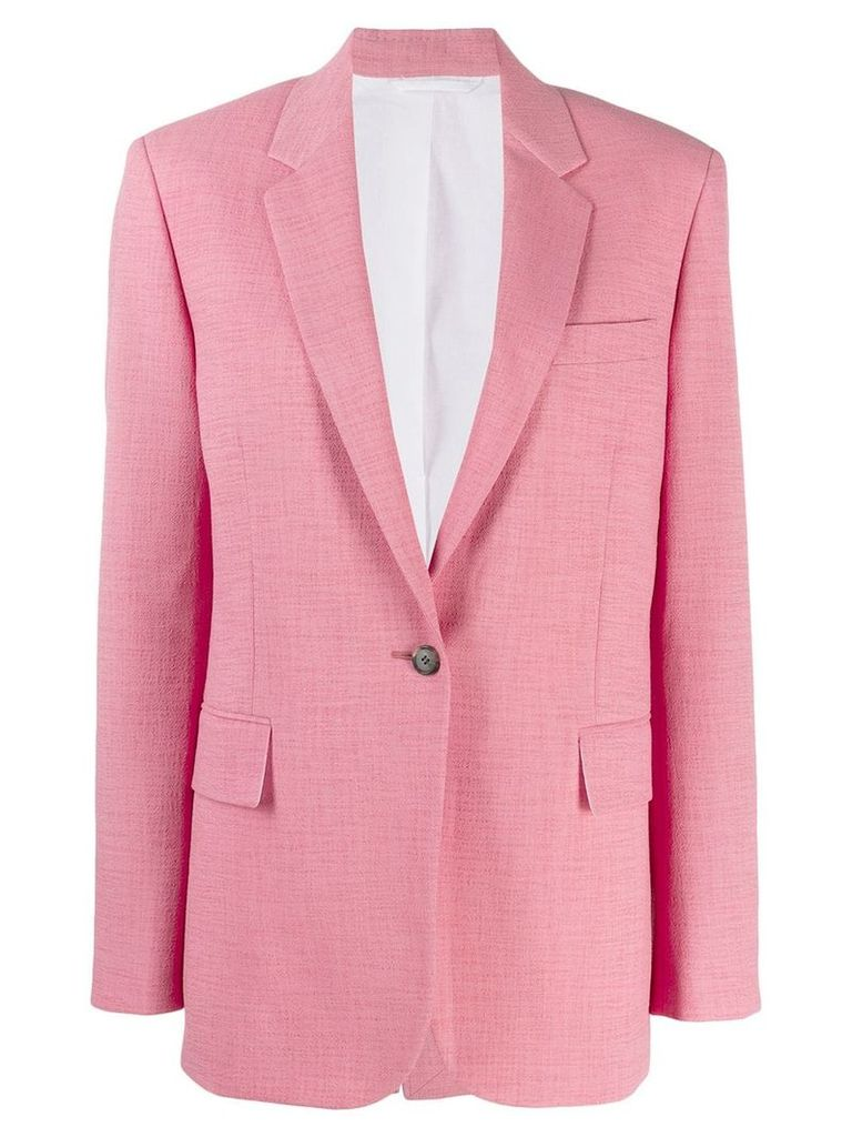 Calvin Klein 205W39nyc classic blazer - Pink