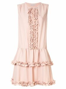 Stella McCartney ruffled trim dress - Pink