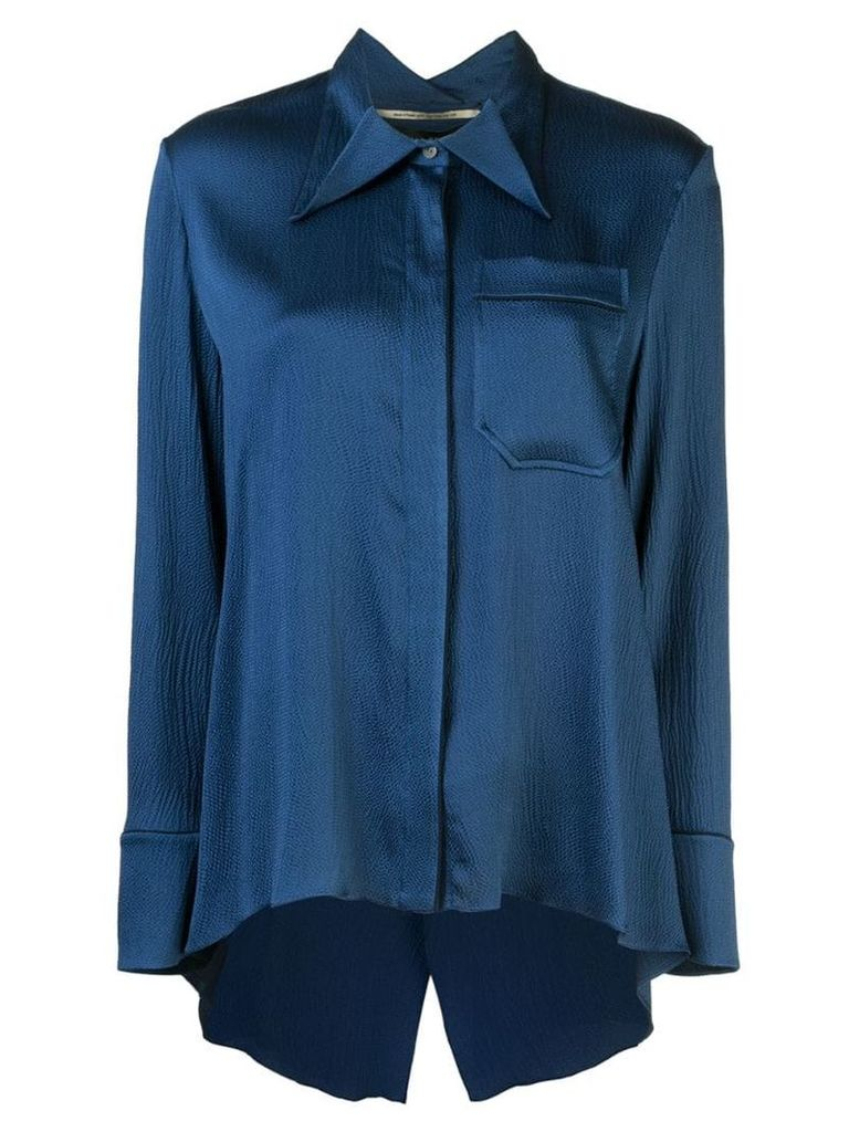 Roland Mouret Algar shirt - Blue
