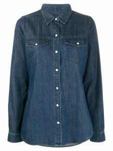 J Brand classic denim shirt - Blue