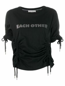 Each X Other drawstring T-shirt - Black