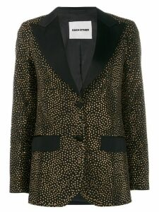 Each X Other crystal embellished blazer - Black