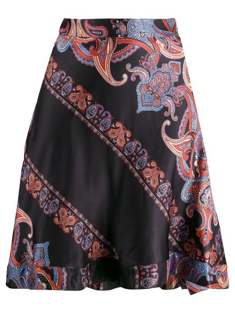 Chloé paisley print high-rise skirt - Black