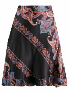 Chloé paisley print high-rise skirt - Black